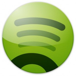Spotify widget, comparte tu lista de reproduccin en tu sitio web