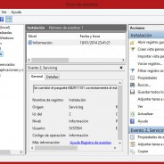 Acelerar Windows 8/Vaciar o Limpiar RAM Windows 8 (Visor de eventos)