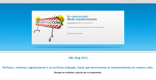 Maintenance Mode WordPress plugin Modo mantenimiento